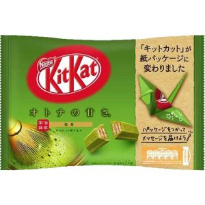 13 Pieces Kitkat Mini Adult Sweetness Green Tea