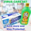 Virus Care (Mask & Alcohol) Set
