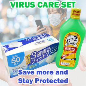 Virus Care (Mask & Alcohol) Set