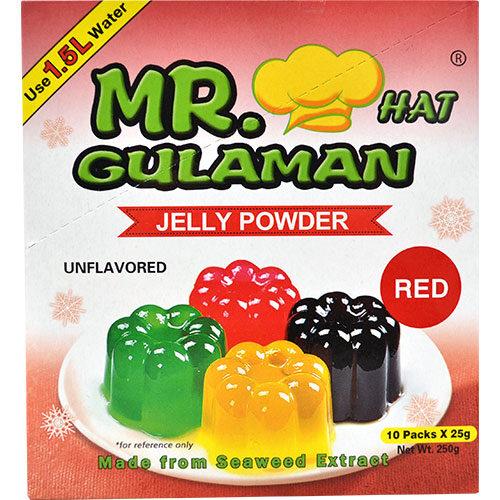Mr. Gulaman Red 24g (10 packs)