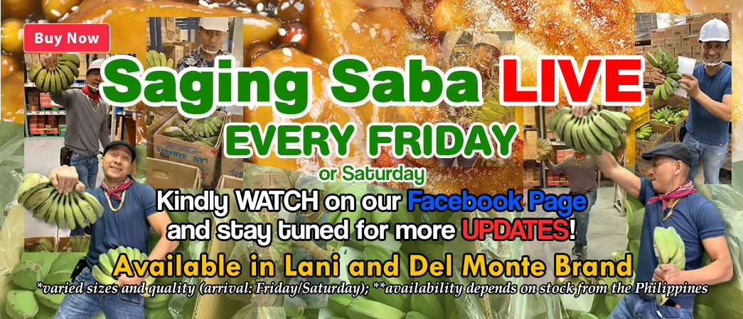 friday saging saba live kuya nikko
