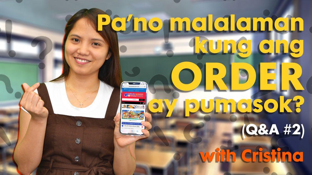Pa'no Malalaman Kung Ang Order Ay Pumasok? – akabanebussan.com